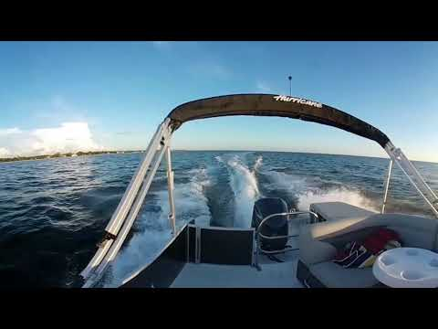 Hurricane FunDeck 236 OB 360 VR Test Ride