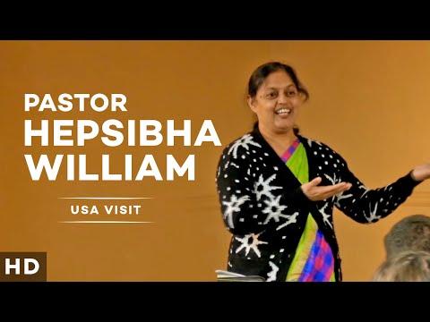 Pastor Hepsibha William's Visit to USA [Presentation]