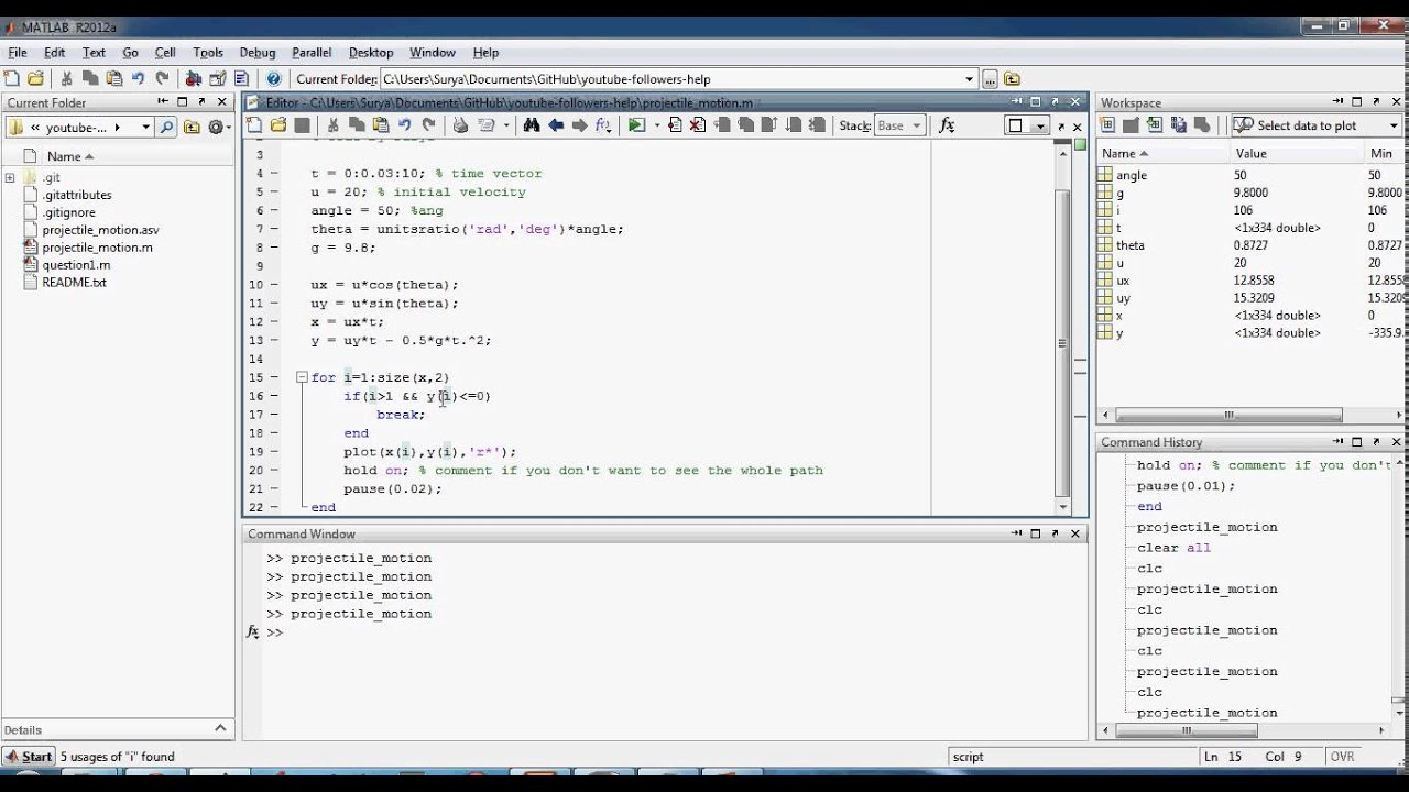 how to write summation in matlab code