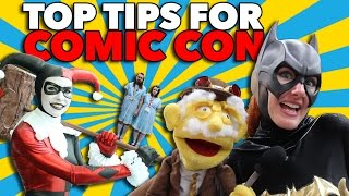 Top Tips for Comic Con