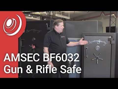 AMSEC BF6032 Gun & Rifle Safe With Dye The Safe Guy