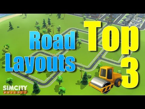 SImCity Build It | Top 3 Road Layout Design Strategy