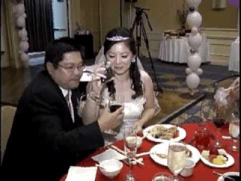 gold cd Pacific Palms Resort wedding receiption demo karaoke dj lighting mc