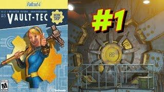 Fallout 4 - Убежище 88 - часть1 - А ну отвалили от моеё двери