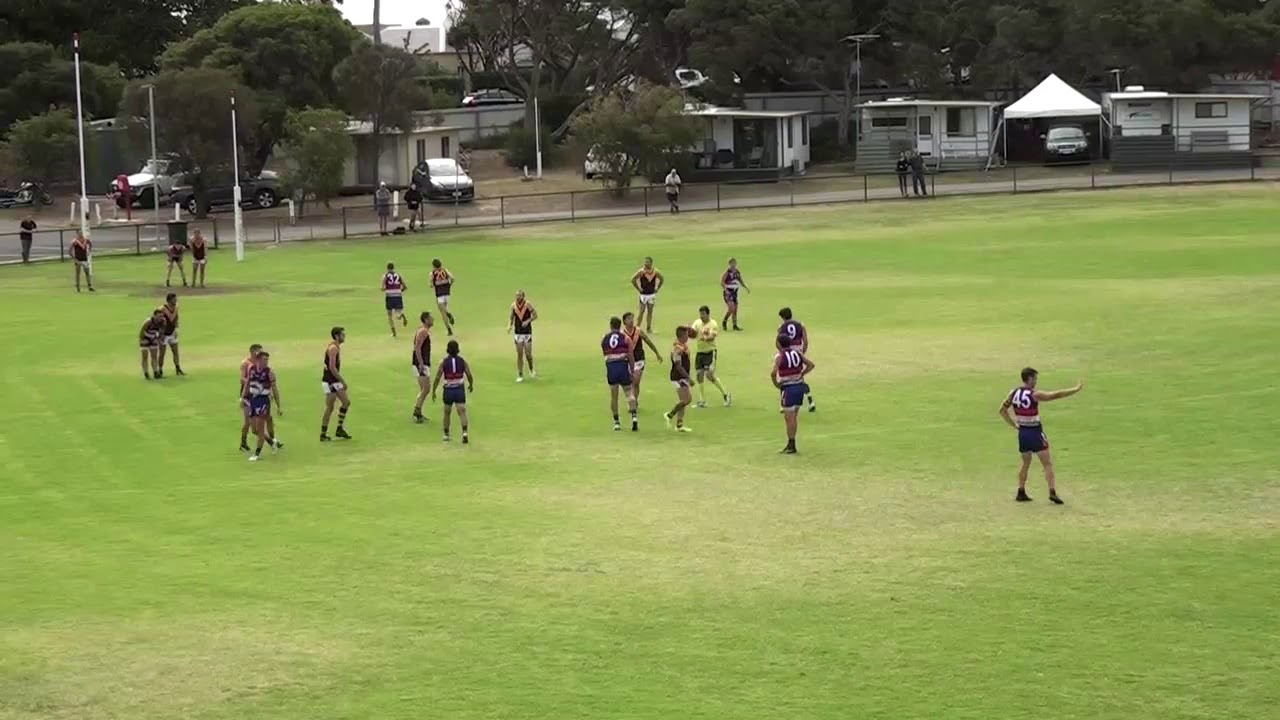 Rd 1   Queenscliffe vs Drysdale Throw Ins