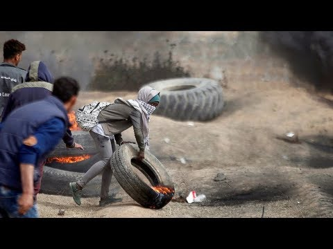 LIVE: Proteste im Gaza-Streifen –