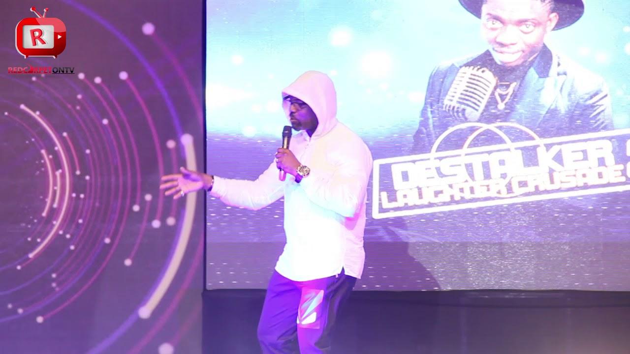 Destalker Laughter Crusade 2018 (Red Carpet On Tv) Okey Bakassi - Broda Shaggi