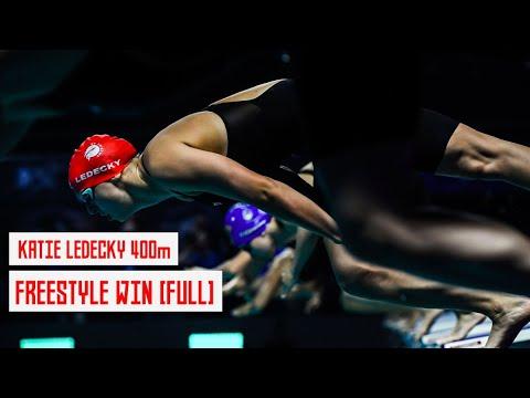 Katie Ledecky Wins 400m [FULL RACE] | ISL Indianapolis |