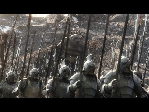 The Hobbit: The Battle of the Five Armies VFX | Breakdown | Weta Digital