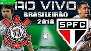 Corinthians 1x1 São Paulo   Brasileirão 2018   Parciais Cartola FC   33ª Rodada  