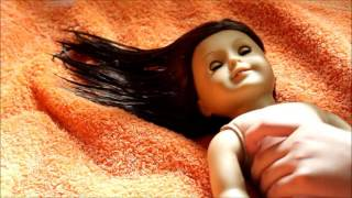 How to Straighten and Soften Your American Girl Dolls Hair