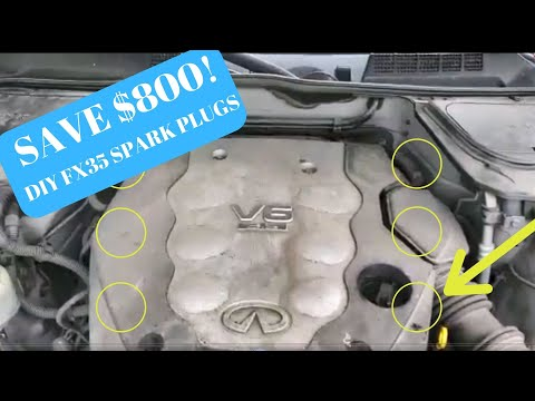 DIY Infiniti FX-35 Spark plug or Coil Pack replacement