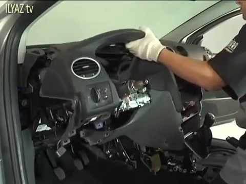 2013 Ford Fusion Fuse Box Diagram How To Remove Instrument Panel On Ford Focus Ii Youtube