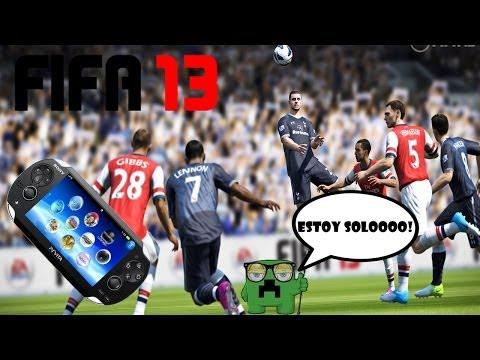 FIFA 13 PSVITA online -- ¿quien dice que no tiene un juego de futbol?