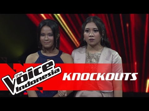 Chindy Vs Shafira | Knockouts | The Voice Indonesia GTV 2018