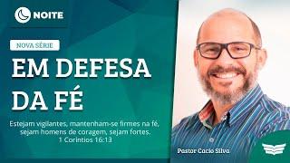 Bem vindo ao culto da Noite | Rev. Cácio Silva