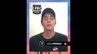 SURF WEB FILES WITH LUCCA MESINAS FROM PERU
