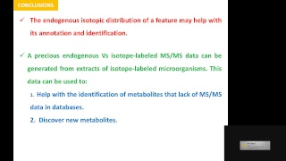 Advanced Mass Spectrometry and Metabolomics Short Course