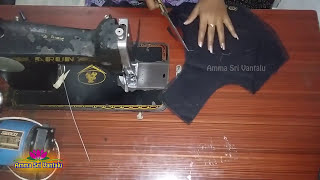 Video Easy Blouse cutting & stitching  with Back patch Designs at home by ammasri vantalu download MP3, 3GP, MP4, WEBM, AVI, FLV Juni 2018
