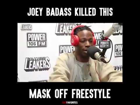 Joey bada$$ killed mask off freestyle