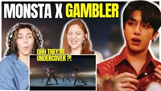 Hispanic Musicians React to MONSTA X 몬스타엑스 'GAMBLER' MV