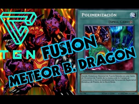 YUGIOH FORBIDDEN MEMORIES - FUSION METEOR B  DRAGON