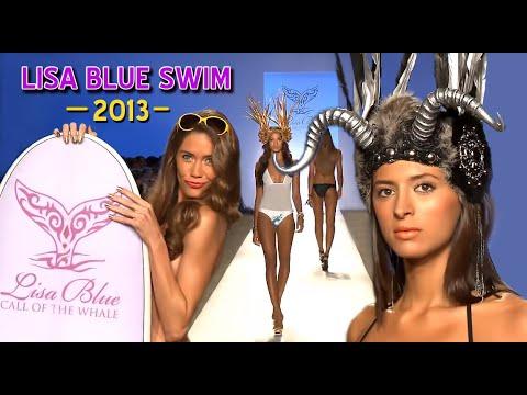 Lisa Blue - Mercedes-Benz Fashion Week Miami Swim 2013 Runway Bikini  Model Show