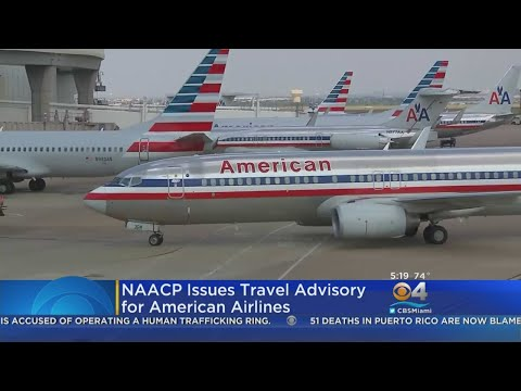 NAACP Advising People Not To Fly American Airlines
