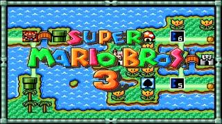 Super Mario Bros. 3 (All Stars) • Mundo Gigante • Super Nintendo - NES • 60fps