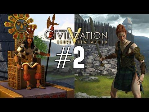 Civilization 5: Emperor Co-op [Celt / Inca] - 2