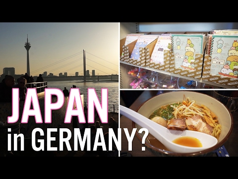 Japan in Germany?! | Daytrip to Düsseldorf