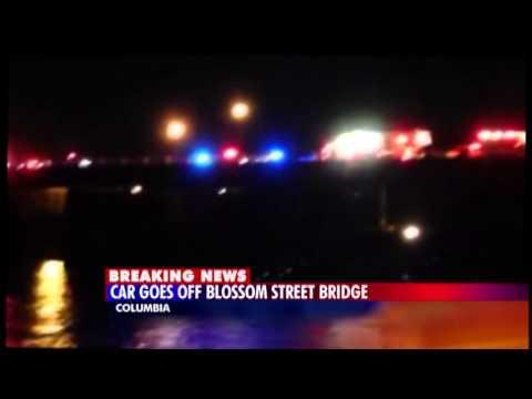 Car Over Bridge Breaking News
