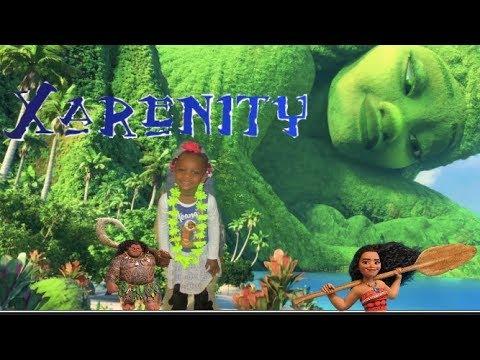 DISNEY PRINCESS MOANA BIRTHDAY PARTY -Xarenity's 3rd birthday- Dancing and Shopping  - X Gurlz VLOG