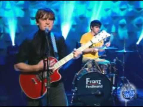 Franz Ferdinand - Take Me Out (on Conan O'brien Show) live
