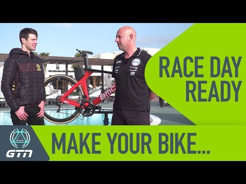 How To Get Your Bike Ready For Your Next Triathlon - With Pro Triathlon Team Mechanic