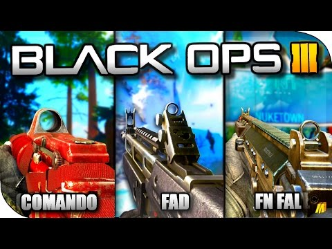 16 CLASSIC ASSAULT RIFLES IN BLACK OPS 3! *NEW* WEAPON MODS TOOLS IN BO3 SHOWCASE! (BO3 MOD TOOLS)