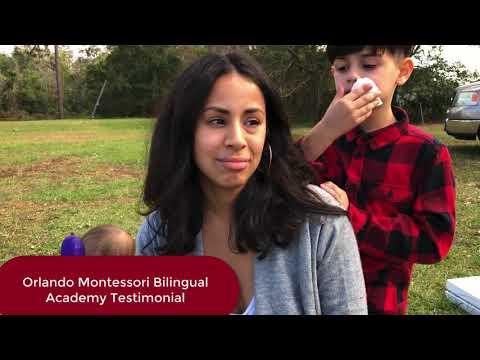 Orlando Montessori Bilingual Academy Testimonial