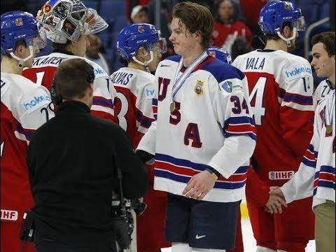 USA crushes Czech Republic for world juniors bronze