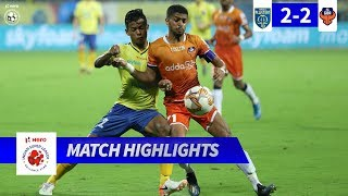 Kerala Blasters FC 2-2 FC Goa - Match 29 Highlights | Hero ISL 2019-20