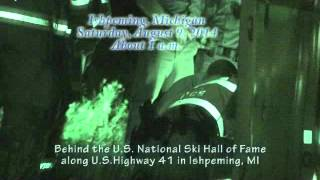 Escaped Bull Cow Takes Police For A Ride In Ishpeming, Mi At The U.s. National Ski Hall Of Fame
