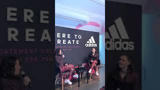 Tessa Virtue livestream Adidas CA