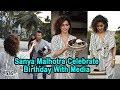 Sanya Malhotra celebrates 27th birthday with media