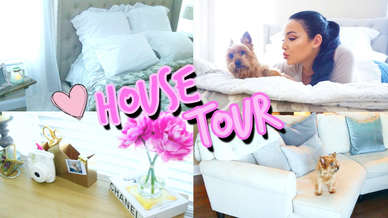 HOUSE TOUR | Welcome to my Crib ♡ Amanda Ensing