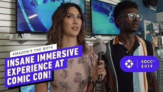 Amazon's The Boys Insane Immersive Experience at Comic Con!