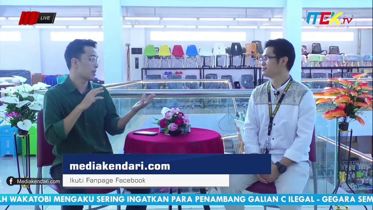 (Live) Selamat Pagi Sultra Ramadhan Bersama GM Maxcell depo Teknik & Bangunan Kendari