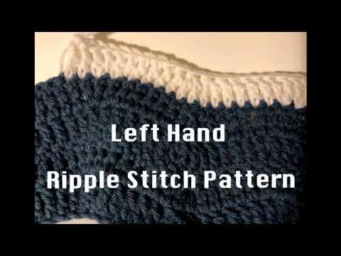 Left Hand Gentle River Ripple Blanket