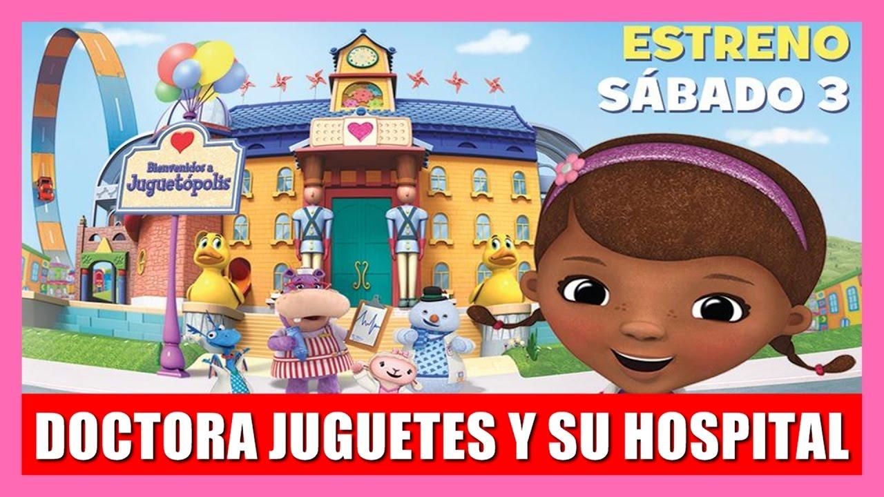 Doctora Juguetes Y Su Hospital Gran Estreno Juego Nuevo Ciudad De Juguetes Disney Junior Youtube