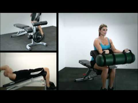 F-FID Force USA Flat Incline Decline Bench – Home Gym Exercises – Featuring Nicky Jankovic