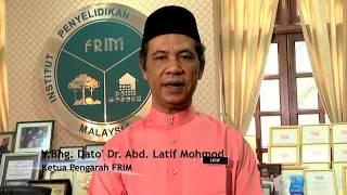 Ucapan Selamat Hari Raya Aidilfitri Ketua Pengarah FRIM 1435H