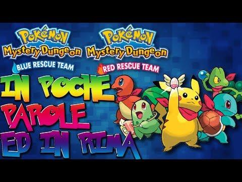 Pokémon Mystery Dungeon Squadra Rossa/Blu IN POCHE PAROLE E IN RIMA